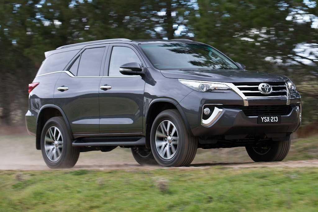 Toyota Fortuner 2.4 4x4 G A/T